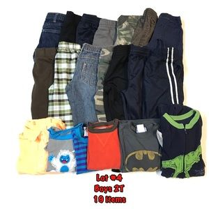 Other - Lot #4 boys clothes size 2T 19 items